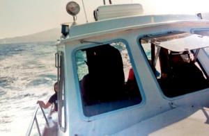 Paseo en barco por la costa de Pasaia