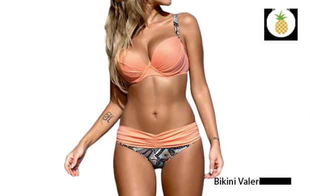 Braguitas de bikini de cadena doble