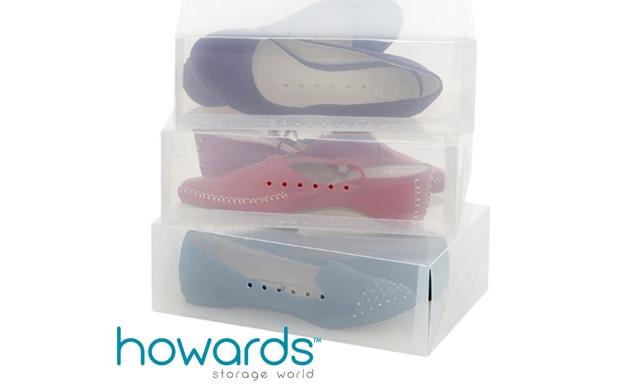 Cajas organizadoras de zapatos y botas descuento 35 - Cajas transparentes para zapatos ...