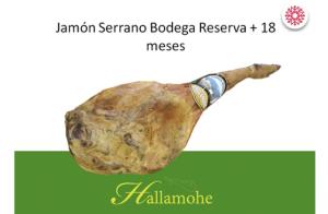Jamón o Paletilla Serrana Reserva Granadina