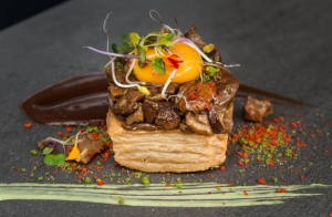 Delicioso menú en el nuevo comedor de Kaialde jatetxea