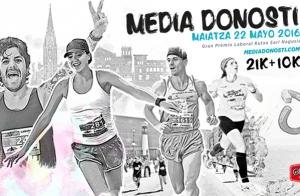 Inscripción para la Media Maratón del 22 de mayo