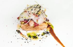 Fantástico menú en el Kaialde de Lezo