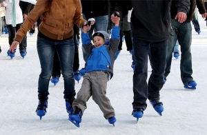 Ven a patinar al palacio de hielo Txuri Urdin