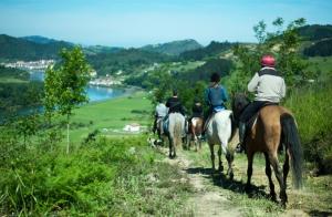 Paseo a caballo de hora y media con pintxo pote incluido