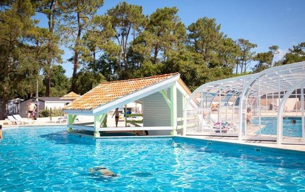 Verano en las landas camping 4 le bougidau en laberne for Camping en las landas con piscina cubierta