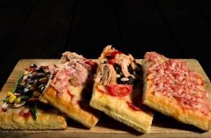 Pizzas con opción de añadir un risotto para 2 y bebidas